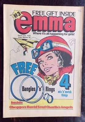 EMMA COMIC. NO. 3 VFN CONDITION. 25 FEBRUARY 1978. 3rd ISSUE. SCARCE