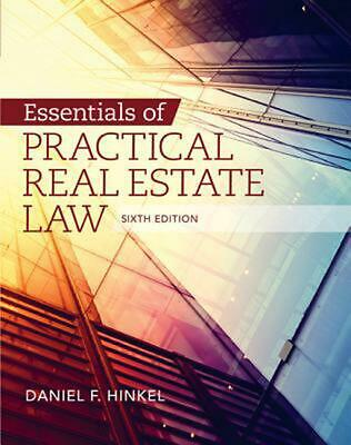 Essentials of Practical Real Estate Law by Daniel F. Hinkel (English) Paperback