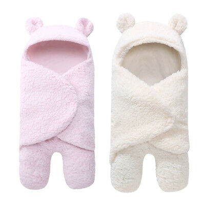 Newborn Infant Kid Baby Boy Girl Swaddle Sleeping Bag Wrap Stroller Bed Blanket