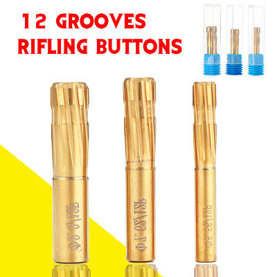 5.5mm-9.0mm Push Rifling Buttons Double Layer Blade Reamer Make a Rifled Barrel