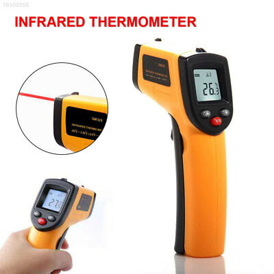 EE5A Non-Contact IR Infrared LCD Digital Temperature Gun w/ Thermometer C/F Lase