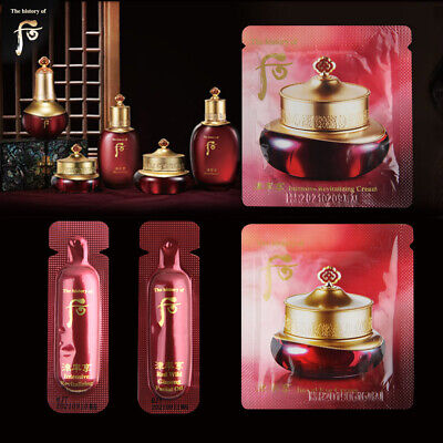 [The history of Whoo] Jinyulhyang Essence, Cream, Eye Cream, Oil Anti-Aging