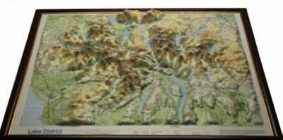 Lake District Raised Relief Map: Unframed (Raised Relief Maps Ser...