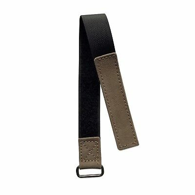 20mm Grey Suede NASA Watch Strap Band Made For Omega Speedmaster Moonwatch