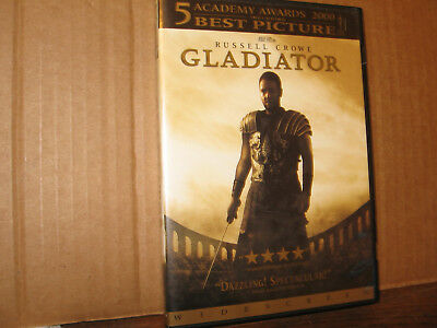 Gladiator Dvd Russell Crowe Widescreen
