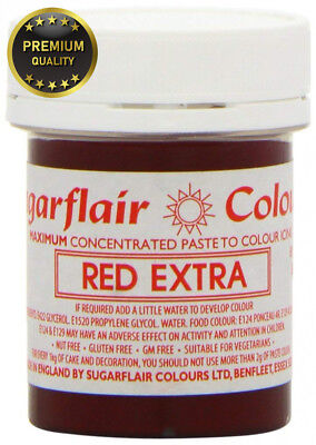 Sugarflair Maximum Concentrated Paste Red Extra