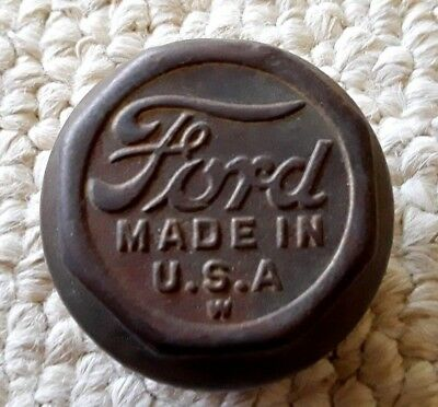 Vintage Ford Threaded Grease Cover  1920s