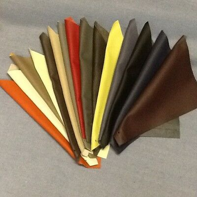 14 LEATHER OFF CUTS SQUARES 37 x 31 cm