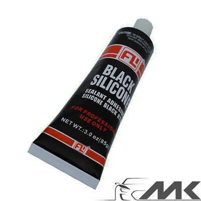 RTV BLACK SILICONE GASKET MAKER SUPER HIGH TEMP 371 Degree SEALANT 85G TUBE