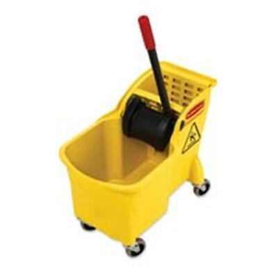 Rubbermaid Commercial Products Mop Bucket- 31 qt.- 13.25x22.63x32.25in.- YW