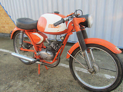 Crp Mexico Gt Minarelli Italian Motorcycle Moped  Original Conserved Condition