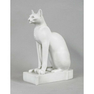 "Bastet ancient Egyptian Cat Goddess Statue Sculpture 16"" Replica Reproduction"