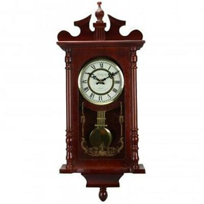 Bedford Clock Collection Bedford Collection Redwood 25 in. Wall Clock