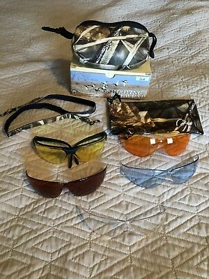 9eb3394faa54 Ducks Unlimited Shooting Eyewear Kit with 5 Interchangeable Lenses