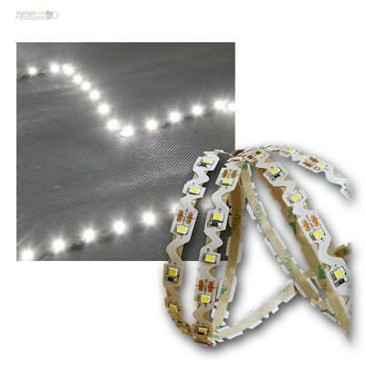 ( 10,30€/ M) 5m SMD Led Rayures 60LED/M Blanc Froid Angle / Rayon en Escalier