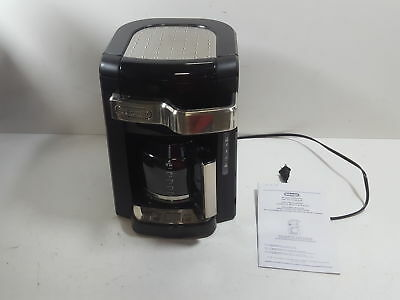 Delonghi Dcf2212t 12 Cup Gl Carafe Drip Coffee Maker Black