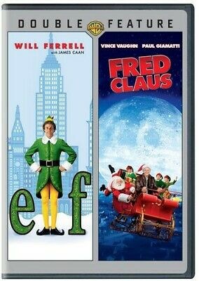 Elf / Fred Claus (DVD, 2013, 2-Disc Double Feature) NEW