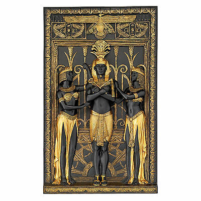 Ancient Egypt Egyptian Royal King Pharaoh Replica Treasure Wall Sculpture