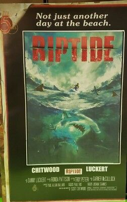 Riptide #2 (of 4) 2nd Print Movie Poster Variant Comic Book 2018 - Red 5 Comics