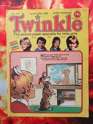 Twinkle  Comic No. 732. 30 January 1982. Fn. Puzzles Not Done.