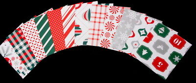 CARD TOPPERS - Christmas Scrapbooking/Cardsmaking Papers  x 12 - 9cm x 9cm