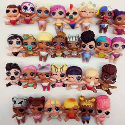 LOL Surprise dolls lil sis eye spy series 4 color change lil luxe pick your like