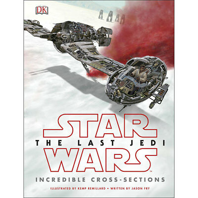 Star Wars The Last Jedi - Incredible Cross-Sections, Christmas Shop, Brand New