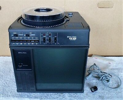 Bell & Howell Carousel Cube Slide Projector model  RM-830   Sold As Parts