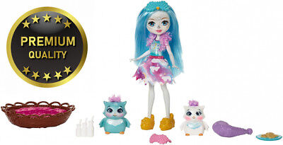 Enchantimals 887961450156 Sleepover Night Owl Dolls