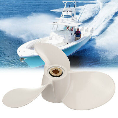 7 1/2x8-BA Aluminum Outboard Propeller For Yamaha Mariner 4-6HP 6E0-45941-01-EL
