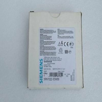 1Pc Siemens 3RN1022-1DW00 Protection Relay New In Box