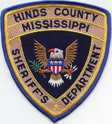 old style HINDS COUNTY MISSISSIPPI MS Sheriff's Department SHERIFF POLICE PATCH