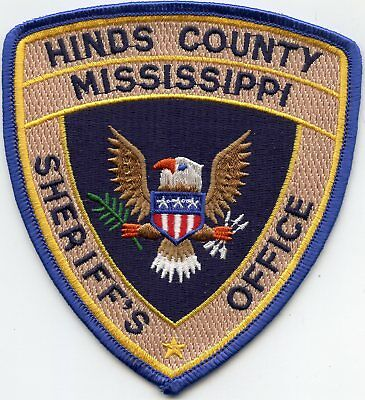 new style HINDS COUNTY MISSISSIPPI MS Sheriff's Office SHERIFF POLICE PATCH