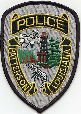 Patterson Louisiana Police Patch