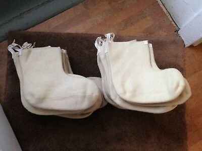 Us Army N-1B Mukluk Extreme Cold Weather Wool Boot Inserts Size Small Or Large