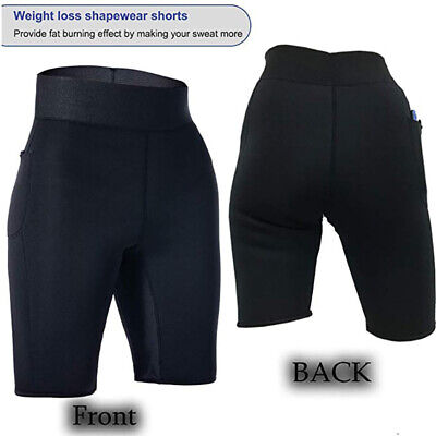 Weight Loss Workout Exercise Fitness Hot Slimming Sweat Sauna Capris Pants Short