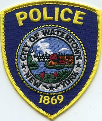 Watertown New York Ny Police Patch