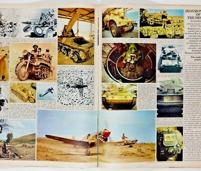 LEN DEIGHTON Ironmongery of the Desert War SUNDAY TIMES UK magazine CHRIS ELLIS