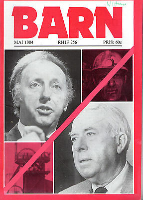 "PETER BARFTRUM - R.S. THOMAS -MARTIN LUTHER WELSH MONTHLY ""BARN"" No. 256 (1984)"