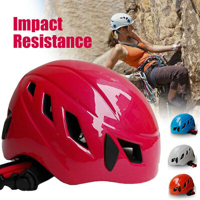 Safety Rock Climbing Downhill Caving Rappel Rescue Helmet Protect Impact-resist