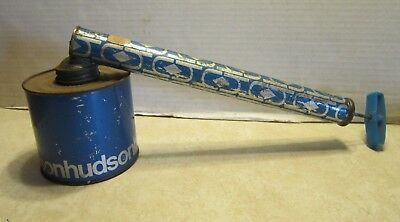 "Vintage Antique 14"" Tin Hudson Garden Bug Sprayer Duster C336"