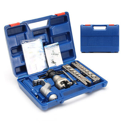 6-19mm R806FT Ratchet Flaring Tool Kit Refrigeration Eccentric Cone +Pipe Cutter