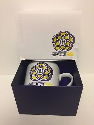 Disney Parks 35th Epcot Starbucks Coffee Mug Limited Edition NIB Mint!