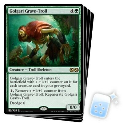 GOLGARI GRAVE-TROLL X4 Ultimate Masters Magic MTG MINT CARD