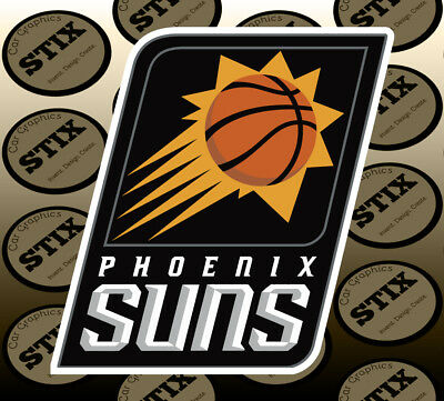 Phoenix Suns Logo NBA Color Die Cut Vinyl
