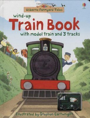 Farmyard Tales Wind-up Train Book by Stephen Cartwright, NEW book, (Hardcover) F