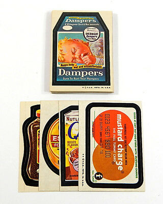 1973 Topps Wacky Packages Original 4th Series Set (30) Avg Ex/Mt