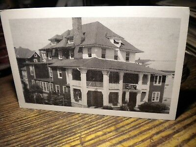 Scarce-1930S--Rex Hotel--Wildwood,nj--Mint- Postcard