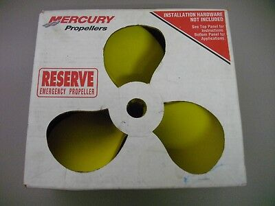 Mercury Propellers Reserve Emergency propeller 48-814700A1 14 X 19 prop