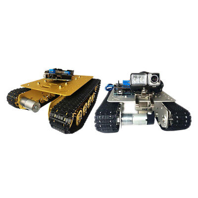DIY RC WiFi Smart Robot RC Car Tracked Tank Chassis RC Car Parts with Camera
